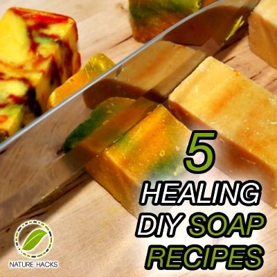 5 Healing Homemade Soap Recipes (These are super easy soaps you make at home and they include healing herbs)