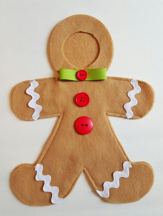 Gingy The Elf Gingerbread Man Costume by StitchSnapPrint on Etsy