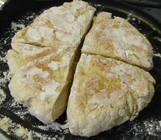 St. Brigid's Oatcakes - An Irish tradition for St. Brigid's Feast Day of February 1.