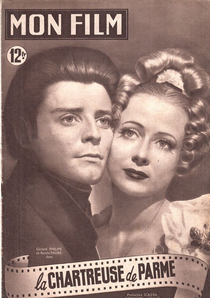 MON Film Cinema 1949 LA Chartreuse DE Parme Renée Faure Gerard Philippe | eBay