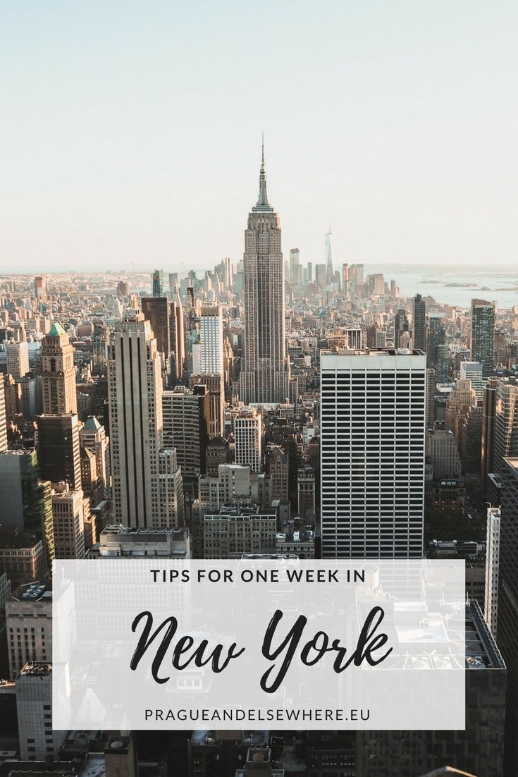 Tips for one week in New York | New York Travel Tips | Things to do in New York, USA #newyork #newyorkcity