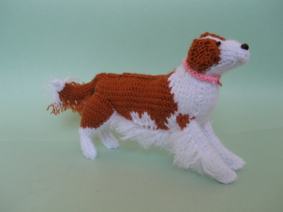 Border Collie Knitting Pattern : Knit Red and White Border Collie Herding Dog creations by me Pinterest ...