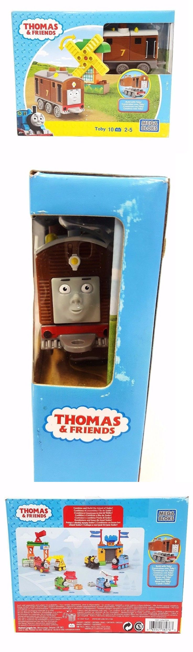 Other Thomas Toys 2629: Mega Bloks Toby Thomas And Friends Buildable Engine -> BUY IT NOW ONLY: $30 on eBay!