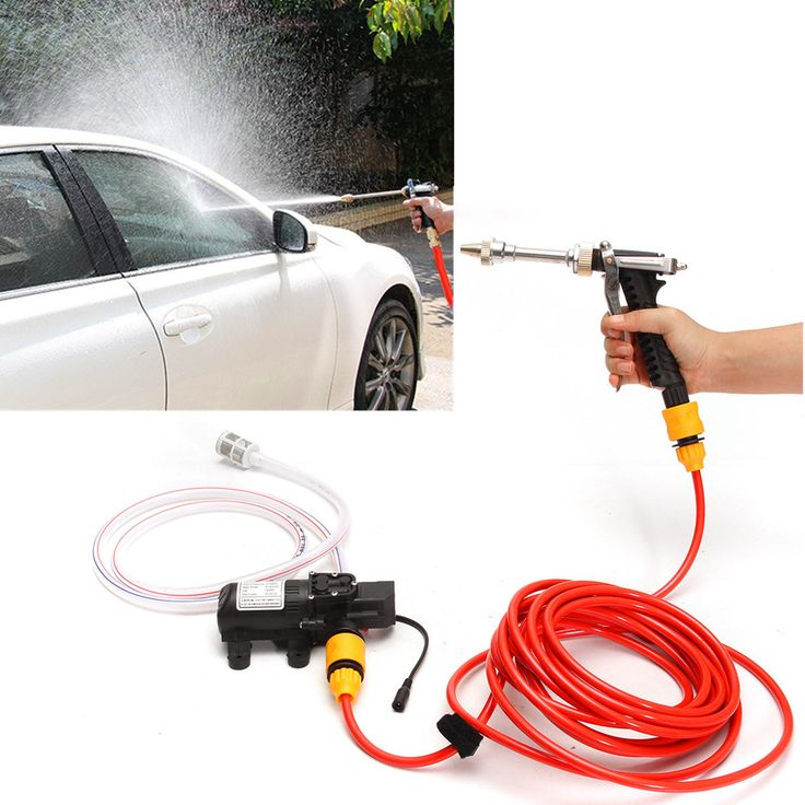 12V 65W High Pressure Marine Deck Car Washer Wash Water Pump Cleaner Sprayer Kit Sale - Banggood.com
