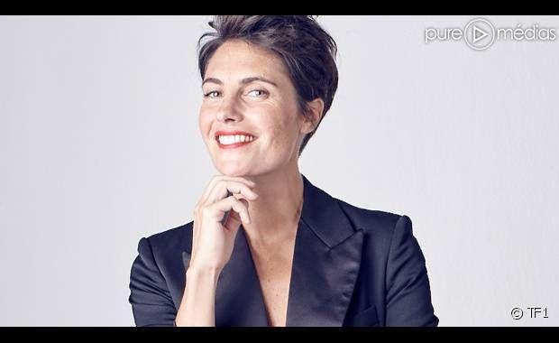 """Alessandra Sublet, """"Action ou Vérité"""" sur TF1."""