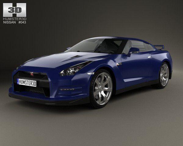 Nissan GTR R35 2013 | 3D Cars | Pinterest | Nissan Gtr R35, Gtr R35 And  Nissan