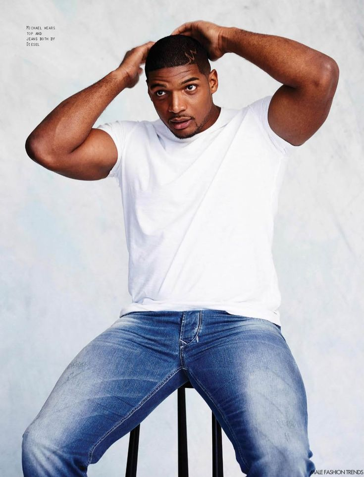 Michael Sam para Attitude Magazine Mayo 2016 por Leigh Kelly