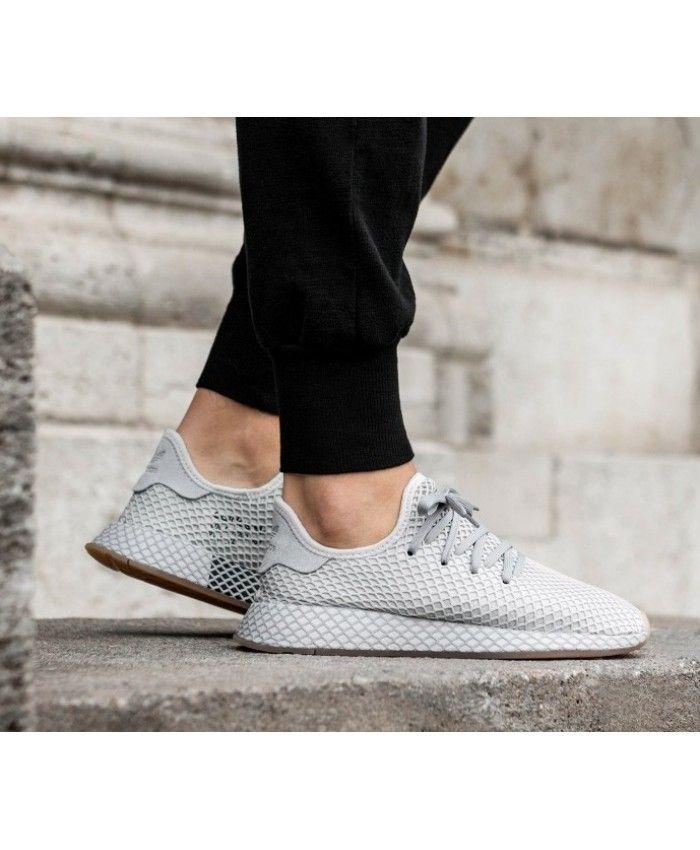 Adidas Deerupt Runner Grey Gum Shoes
