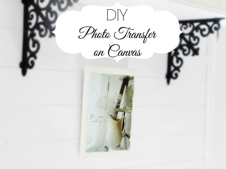 Canvas Photo Transfer - Knick of Time