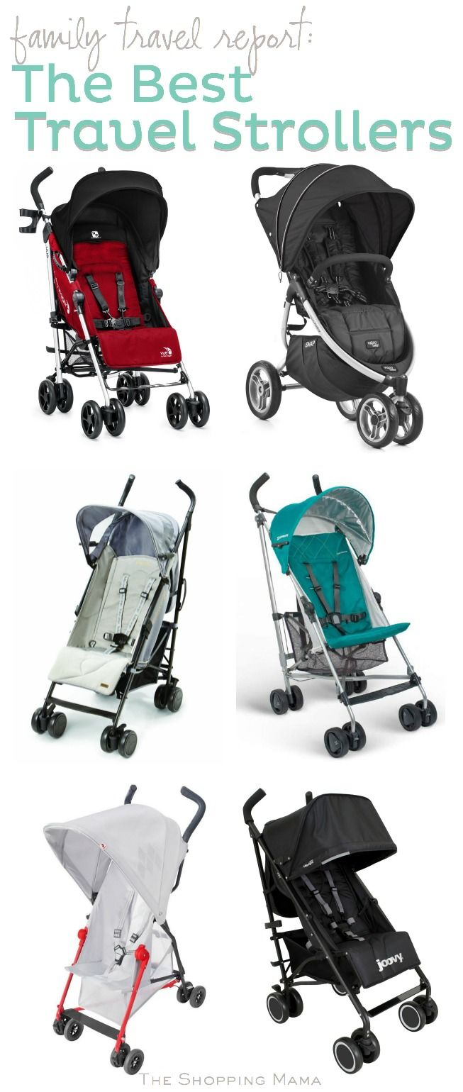 6 Travel Strollers to Make Your Trip Easier | The Shopping Mama