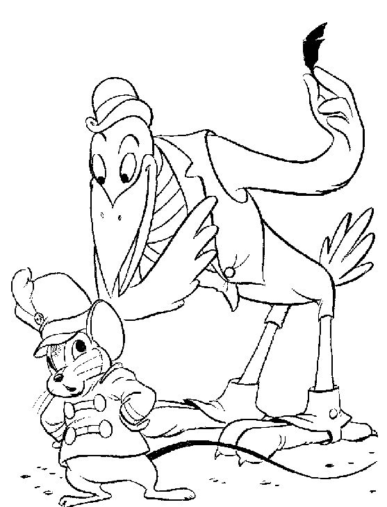 104 best Disney Dumbo Coloring Pages images on Pinterest | Coloring ...