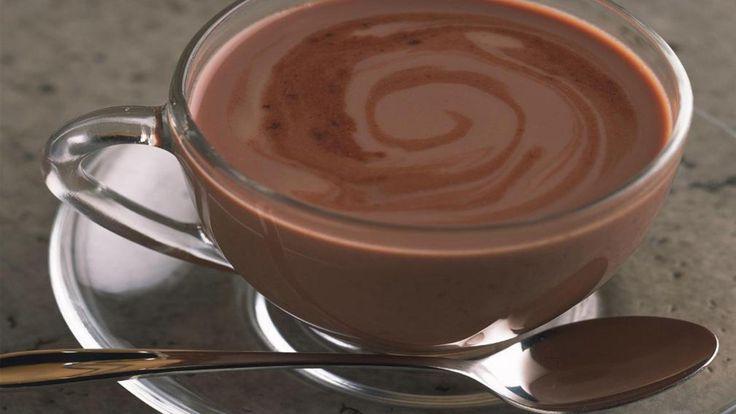 Diétás fehérjés forró csoki