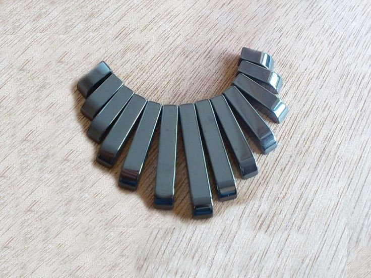 1set pandantiv hematit 10-40mm 13 buc. (GSLAK 065)