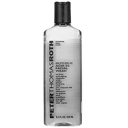 Peter Thomas Roth Glycolic Acid 3% Facial Wash: Shop Cleanser | Sephora