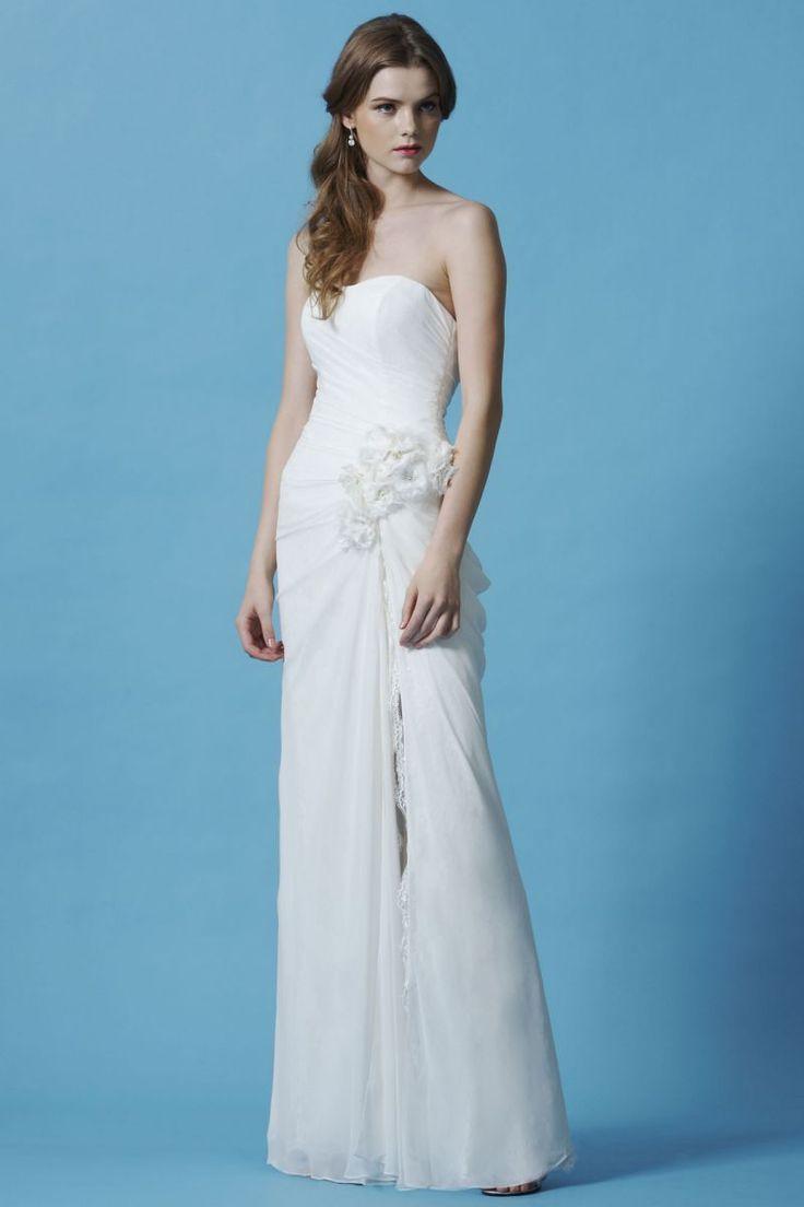 23 best Slit Front Wedding Dresses images on Pinterest | Wedding ...