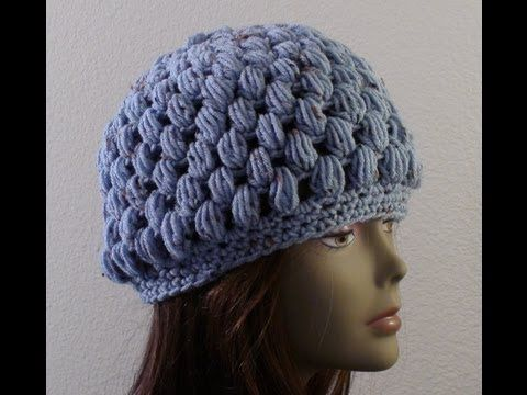 Lefty Tutorial for the Puff Stitch hat - Spa Blue Fleck ...