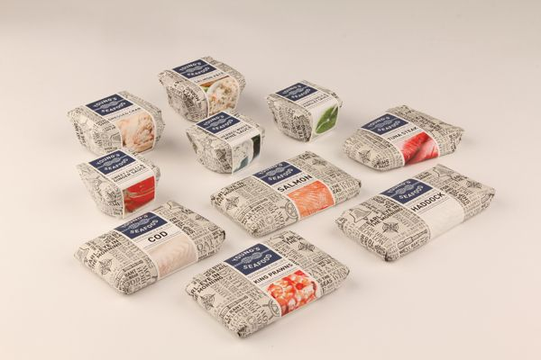 Young's Seafood by Emily Myers, via Behance