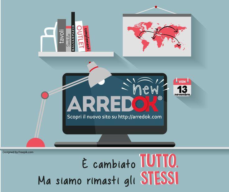 È cambiato TUTTO Ma siamo rimasti gli STESSI ➜Scopri il nuovo sito arredok su http://arredok.com