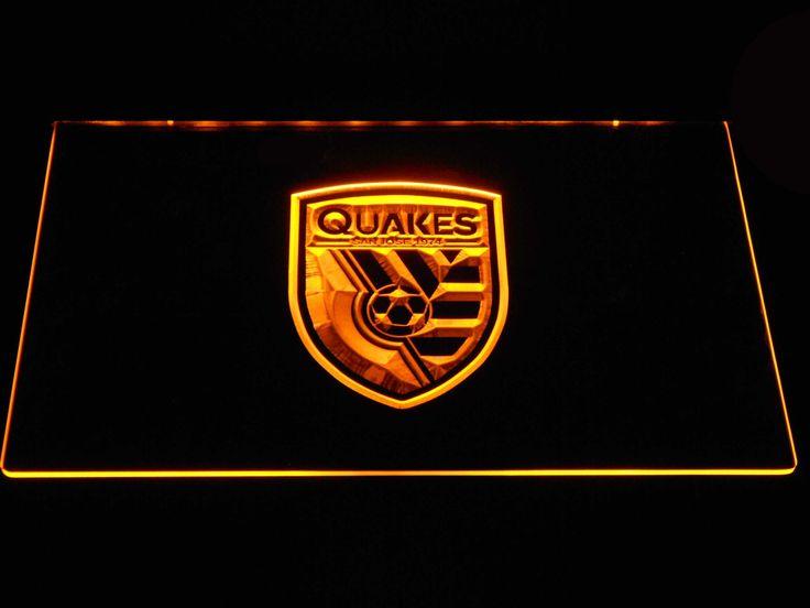 San Jose Earthquakes LED Neon Sign