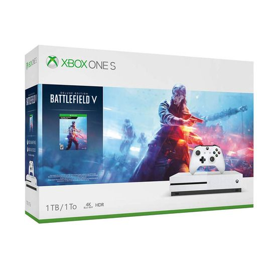 Xbox One S 234 00679 1tb Console Battlefield V Bundle Xbox One
