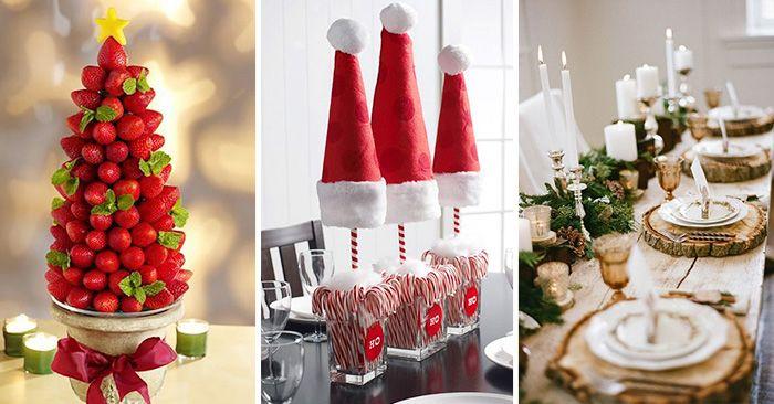 Ideas para decorar la mesa para la cena navideña