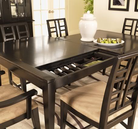Looking For A Place To Hide Your Silverware This Table