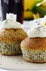 Citronmuffins med birkes