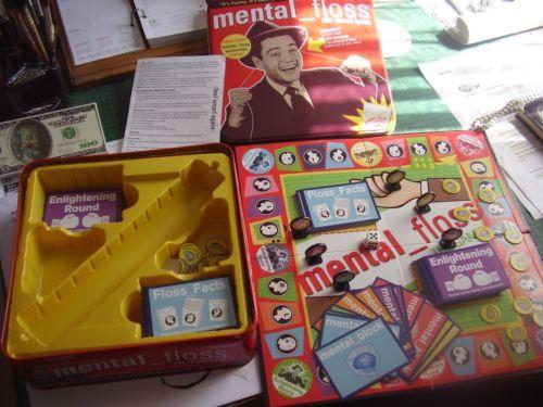 MENTAL FLOSS Hilarious Trivia Family Game!