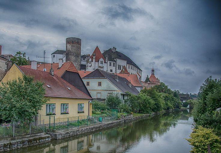 hrad a zámek / castle  Jindřichův Hradec