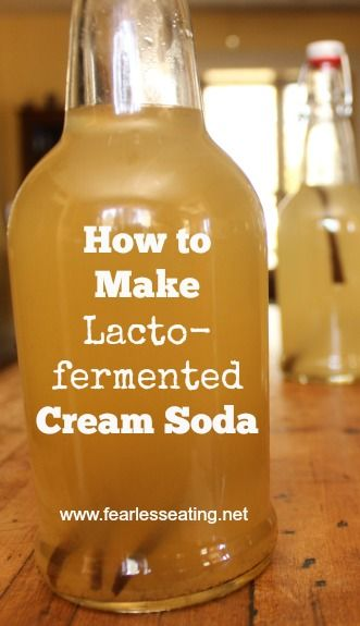 How to Make FERMENTED Cream Soda | www.fearlesseating.net