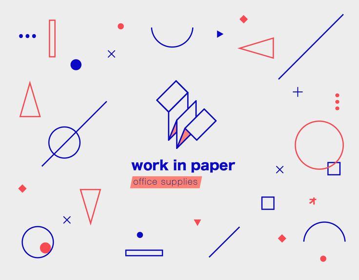 Work in paper on Behance