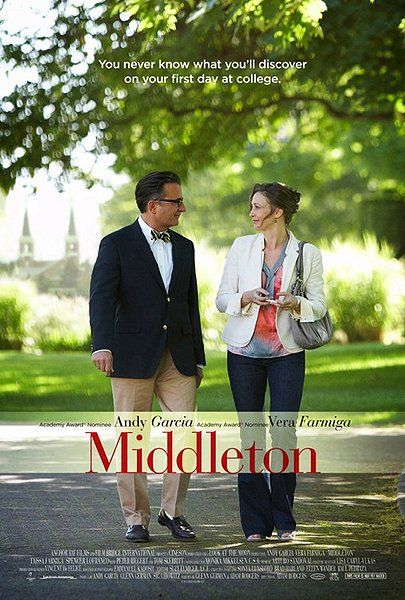 Vera Farmiga and Andy Garcia play strangers who meet while escorting their teen children to campus-tour day at a mythical college named Middleton. They clash immediately, ditch the tour and through a series of escapades find themselves sliding helplessly into love and something far more than they ever imagined.
