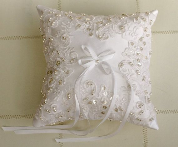 Ring Pillow Weddings by antiquebridal on Etsy, $40.00