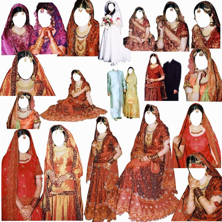 Pakistani Psd Mix Bridal Dress Download