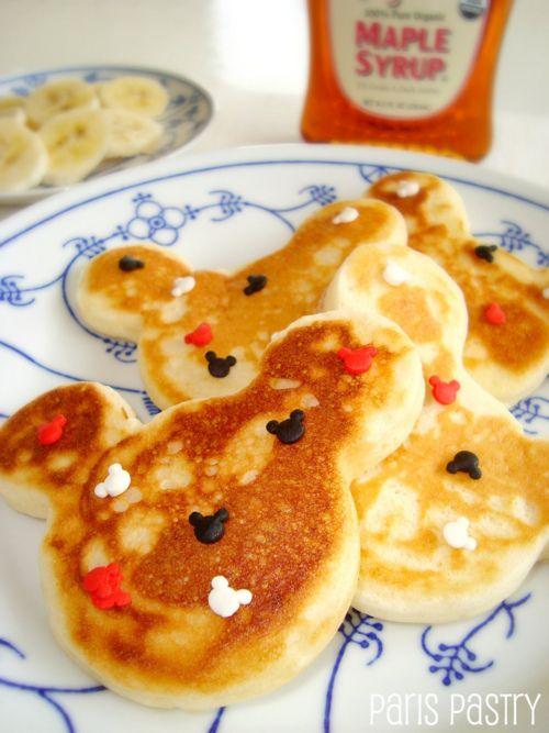 #disney #food Doll face idea for Cayders n Belly in Disney! :)