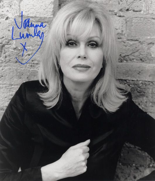 Forever gorgeous, Joanna Lumley - met her. On the 29th of November :) x