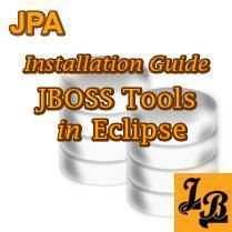Pictorial explains step-by-step installation of JBoss Tools Plugin in Eclipse IDE. A JPA tutorial.