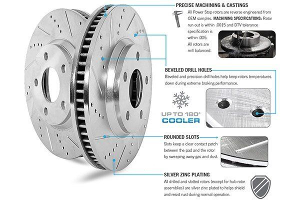 Z23 Evolution Brake Kits Evolution Sports Rotor Disk With