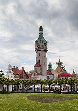 Gdańsk , English: /ɡəˈdaɪnsk, -ˈdɑːnsk, -ˈdænsk/[1]; German: Danzig [ˈdantsɪç] , English: /ˈdænsɪɡ/) is a Polish city on the Baltic coast. It is the capital of the Pomeranian Voivodeship, Poland's principal seaport and is also the centre of the country's fourth-largest metropolitan area.[2]