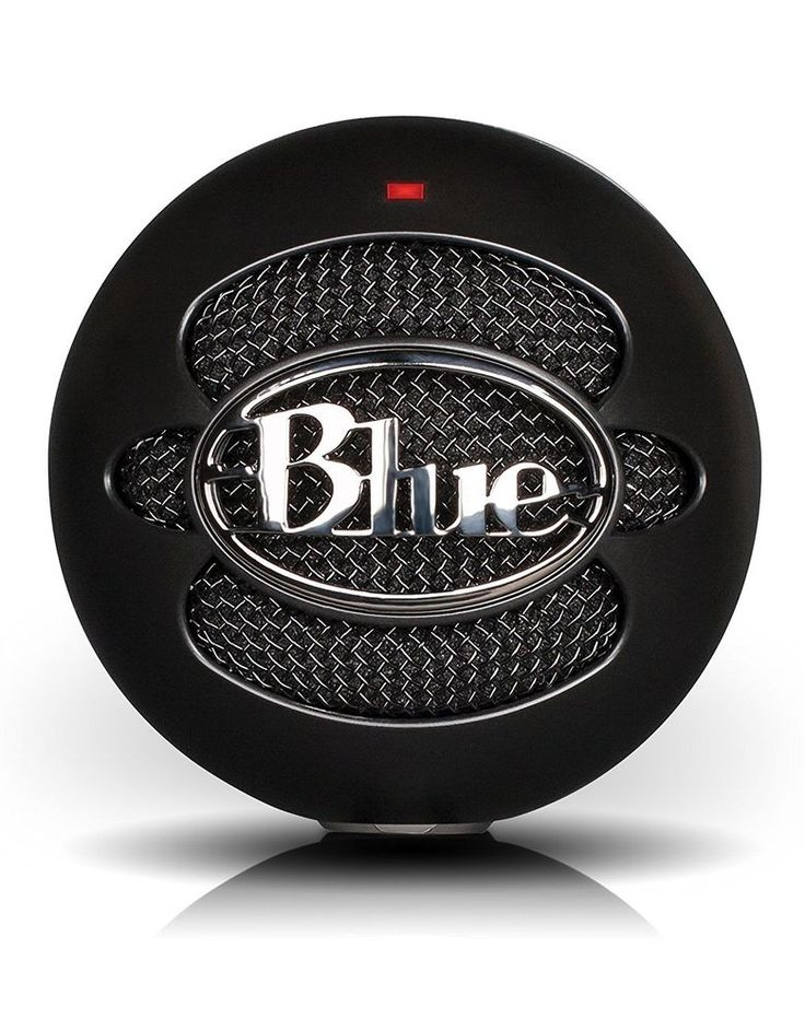 Blue Microphones Snowball ICE Condenser Microphone Cardioid - Black New | eBay