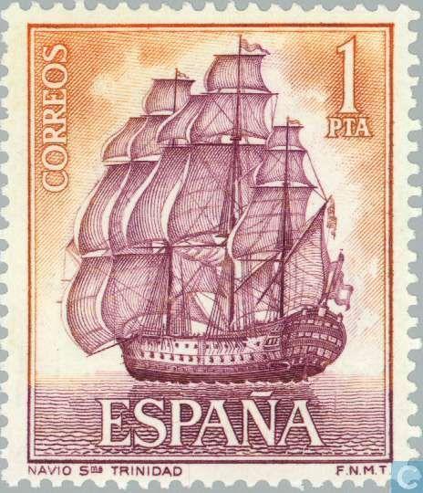 España - Embarca(Transporta) 1964
