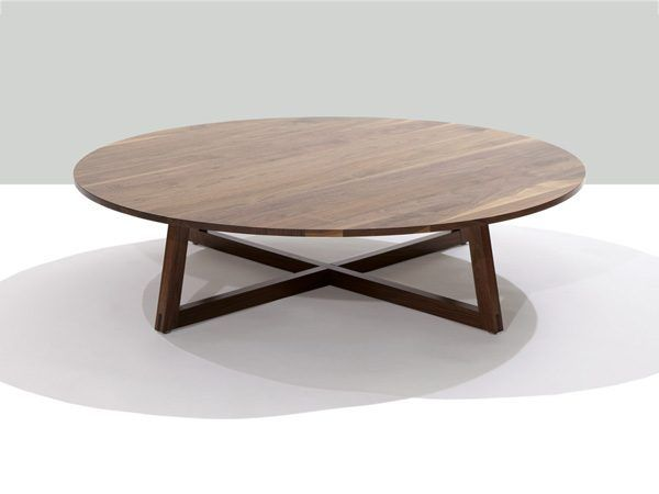 Marvelous Round Walnut Coffee Table Finn Solid Walnut Round Coffee Table Finn Solid Wood 48 Inch Round Coffee Table Carlisle Coffee Table