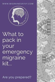 Be prepared for your next attack with these tips, tricks and techniques. Use this migraine prevention kit to be prepared and have your best chance at aborting the next attack.