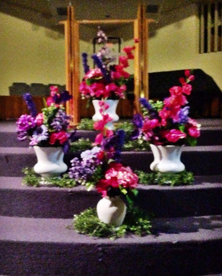 Flower Arrangements For Church Sanctuary