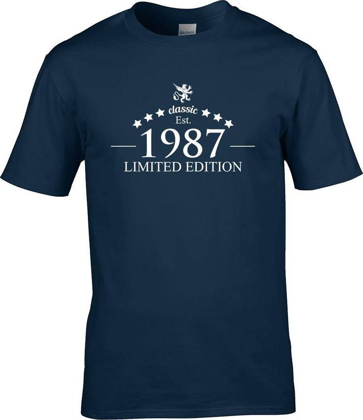1984 Limited Edition Birthday Present Party Shirt T 33 Years Old Turning Vintage Style By RingAndDonut On Etsy