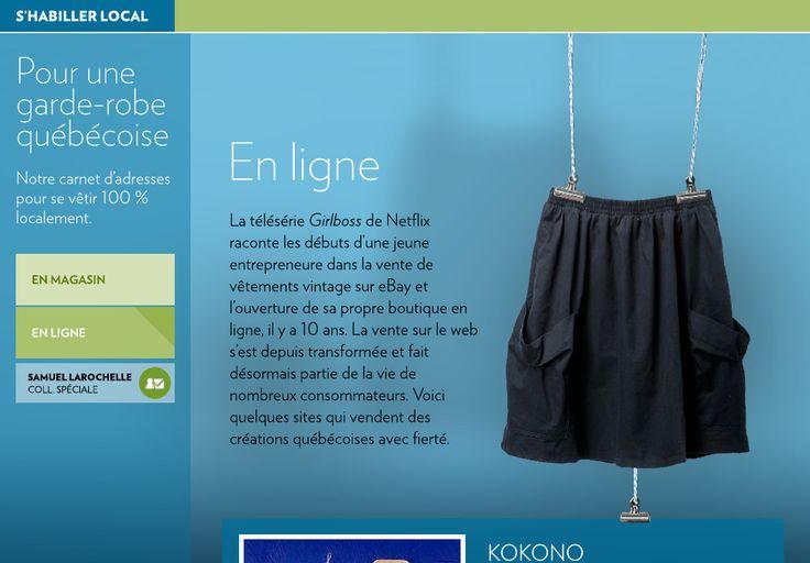 Pour une garde-robe québécoise - La Presse+