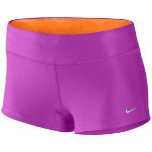 Nike Filament Boy Short - Women's - Running - Clothing - Magenta/Vivid Orange/Matte Silver