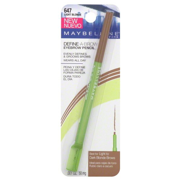 maybelline eyebrow pencil - Best drug store brow pencil I have used yet!
