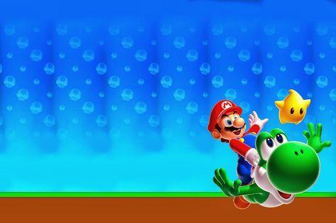 Invitaciones De Cumpleaños De Mario Bros Para Descargar Gratis 12