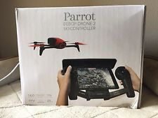 Parrot Bebop 2 Drone Red With Skycontroller Black Bundle